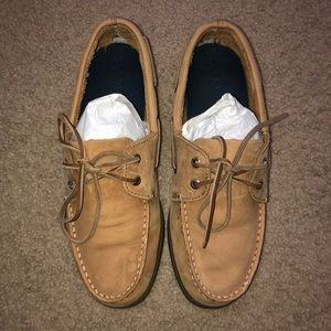 Boy's Authentic Original Leather Boat Shoe